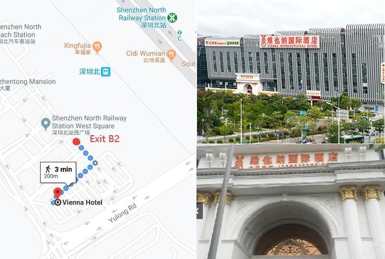 Shenzhen North Railway Station Pick Up Point