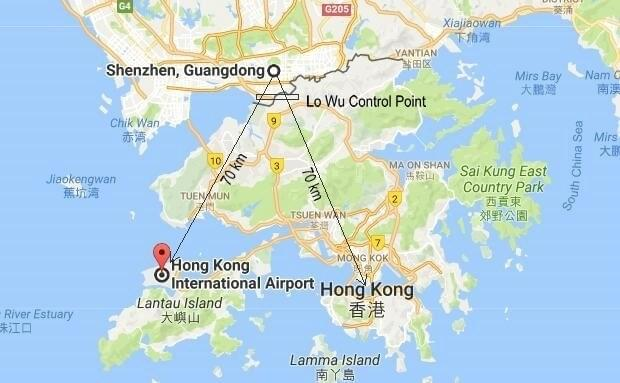 Hong Kong To Shenzhen Airport Car Service