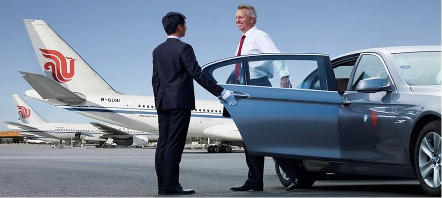 china airport pick up service