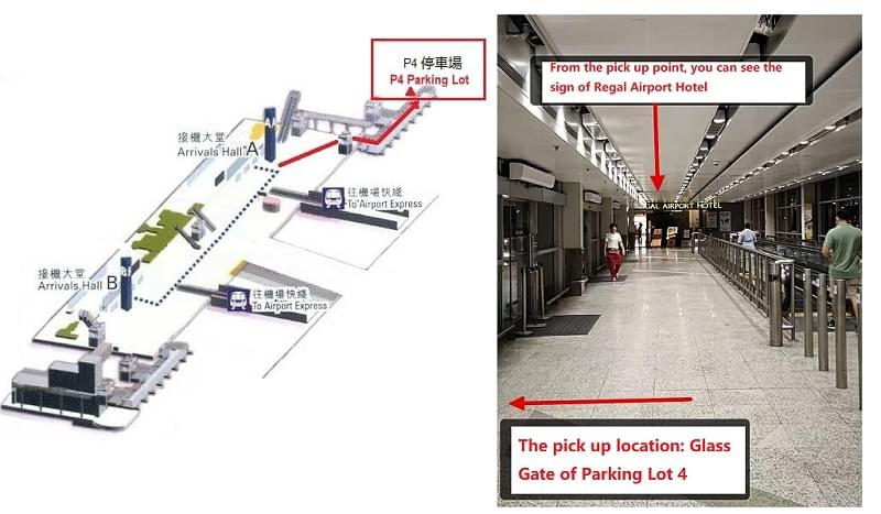 Hong Kong Airport Pick Up Point