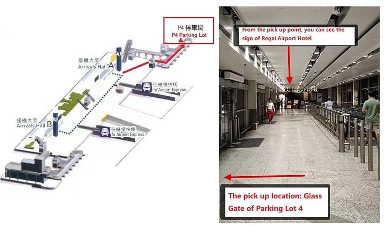 Hong Kong Airport Pick Up Point