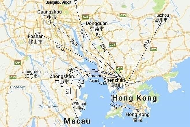 Guangzhou To Shenzhen Car Service