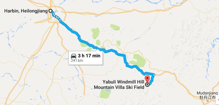 harbin yabuli transport